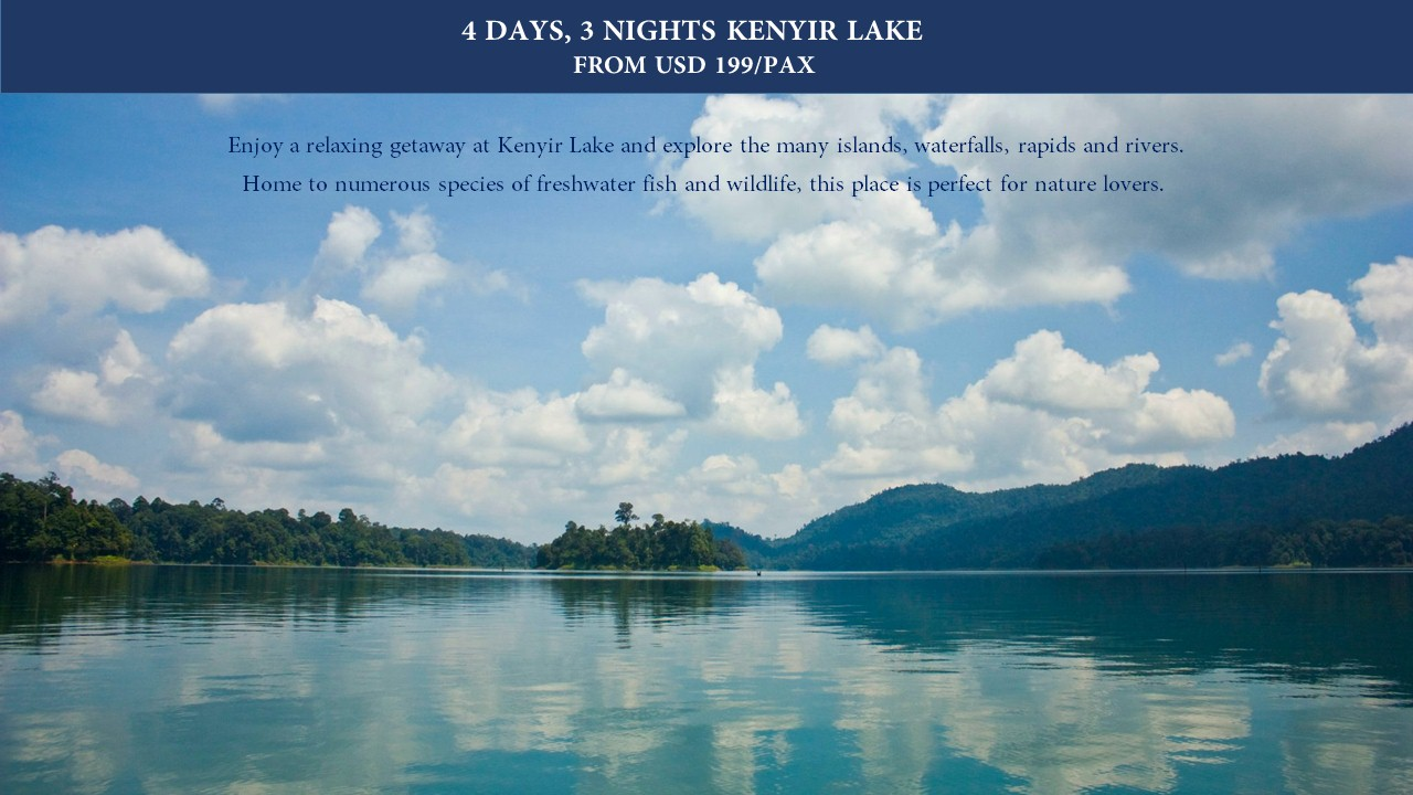 Kenyir-Lake